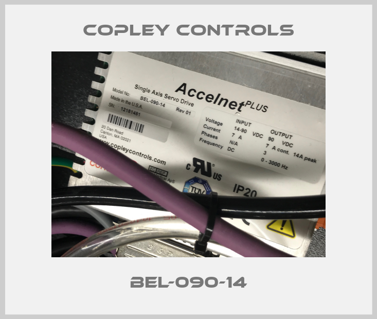COPLEY CONTROLS-BEL-090-14 price