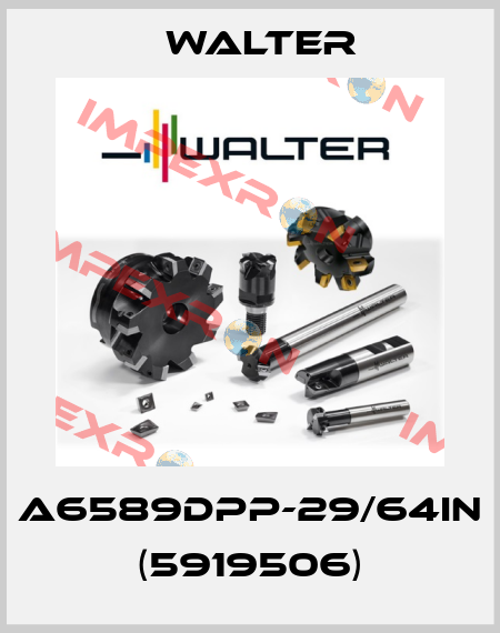 Walter-A6589DPP-29/64IN (5919506) price