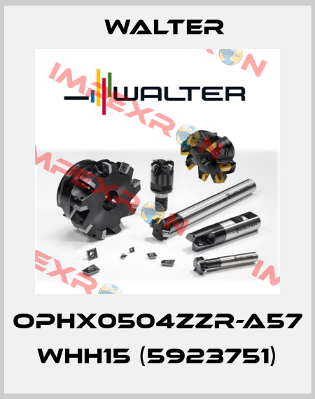 Walter-OPHX0504ZZR-A57 WHH15 (5923751) price